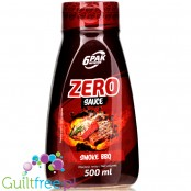 6Pak Nutrition Zero Sauce Smoked BBQ sos barbecue 18kcal