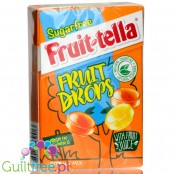 Fruittella Sugar Free Fruit Drops Citrus Mix, 45 g