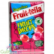 Fruittella Sugar Free Fruit Drops Red Berry Mix, 45 g