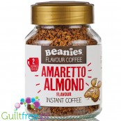 Beanies Hot Amaretto Almond instant flavored coffee 2kcal pe cup