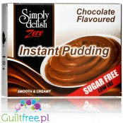 Simply Delish Whipped Chocolate - pudding bez cukru i glutenu, Czekolada