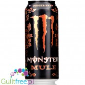 Monster Mule Ginger Brew Sweet & Spicy original from USA (CHEAT MEAL)