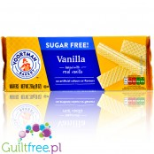 Voortman Wafers Vanilla sugar free wafers with creamy filling