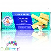 Voortman Wafers Coconut Creme sugar free wafers with creamy filling
