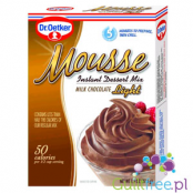 Dr. Oetker Mousse Milk Chocolate Instant dessert mix - an instant mix to prepare mousse with chocolate milk, 60% lower calorific