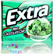 Extra Dessert Delights Mint Chocolate Chip sugar free chewing gum