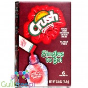 Crush Singles to Go 6 pack - Cherry, sugar free instant sachets