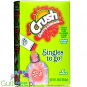 Crush Singles to Go 6 pack - Cherry Limeade, sugar free instant sachets