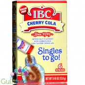 IBC Cherry Cola Singles to Go 6-Pack, sugar free instant sachets