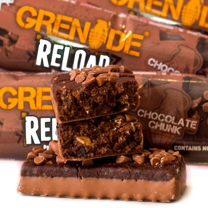 Grenade Reload Protein Oat Bar Chocolate Chunk