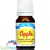 Funky Flavors Apple liquid food flavoring, sugar & sweetener free