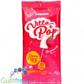 Prozis Vitta + Pop Raspberry - sugar free Multivitamin Lollipop