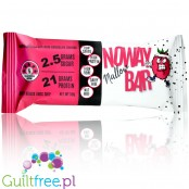 ATP Science Noway Mallow Bar Berry Attack - Gut Friendly Collagen Based Keto Protein Bar