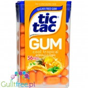Tic Tac Gum Cool Tropical sugar free chewing gum