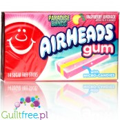 Airheads Gum - Paradise Blends Raspberry Lemonade sugar free chewing gum with micro-candies