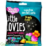 Caring Candies Sugar free Little Lovies Toffee Peppermint