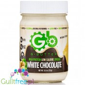 G Butter High Protein Spread, White Chocolate 12.6 oz