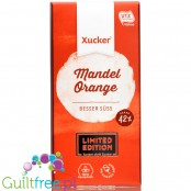 Xucker sugar free milk chocolate with almonds & orange, sweetened with Finnish xylitol only