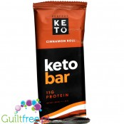 Perfect Keto Keto Bar, Cinnamon Roll