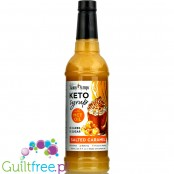 Jordan's Skinny Keto Syrup, Salted Caramel - zero kcal syrup with MCT, no sucralose