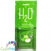 Prozis H2O Infusions Green Apple sugar free instant drink in a sachet, with vitamin C