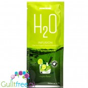 Prozis H2O Infusions Mojito sugar free instant drink in a sachet, with vitamin C