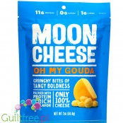 Moon Cheese Snacks, Oh My Gouda - carb free keto crunchy bites