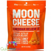 Moon Cheese Snacks Cheddar - keto chrupaki serowe