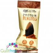 Optimum Nutrition Protein Almonds, Cinnamon Roll, 10g WPI per pack