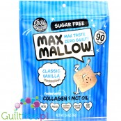 Know Brainer Foods Max Mallow Classic Vanilla, sugar free ketogenic marshmallow