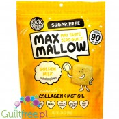 Know Brainer Foods Max Mallow Golden Milk - keto pianki marshmallow mleczno-miodowe