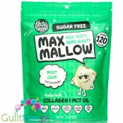 Know Brainer Foods Max Mallow Mint Chip, sugar free ketogenic marshmallow