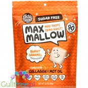 Know Brainer Foods Max Mallow Burnt Caramel, sugar free ketogenic marshmallow