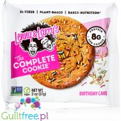 Lenny & Larry Cookie Birthday Cake All Natural, new size