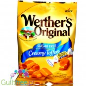 Werthers Original Creamy Toffee 65g sugar free chewy candies