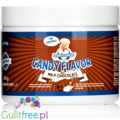 Franky's Bakery Candy Flavor Milk Chocolate - powdered food flavoring with stevia