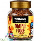 Beanies Maple Fudge instant flavored coffee 2kcal pe cup