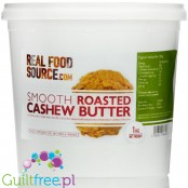 RealFoodSource Roasted Cashew Butter 100% (1KG)