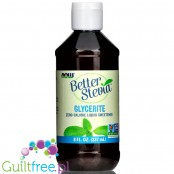 Now Better Stevia Glycerite 237ml liquid sweetener with stevia, unflavored
