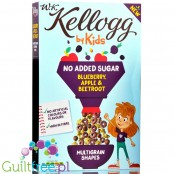 Kellogg Kids No Added Sugar Blueberry & Apple multigrain cereals
