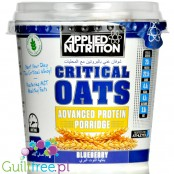 Applied Nutrition Critical Oats Blueberry - Jagodowa owsianka proteinowa z MCT