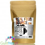 RealFoodSource Ugandan Roasted Cocoa Mass 100%