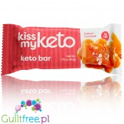 Kiss My Keto, Ketogenic Bar, White Chocolate & Salted Caramel