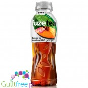 FuzeTea Zero Black Tea, Peach & Rose 0,5L