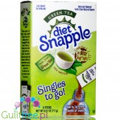 Diet Snapple Singles to go! Green Tea sugar free instant sachets