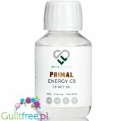 Love Life Supplements Primal Energy C8 MCT Oil - płynny olej MCT, 95% C8