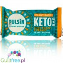 Pulsin Keto Bar Choc Fudge & Peanut - vegan bar with xylitol