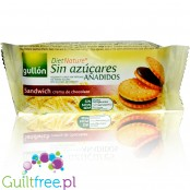Gullón DietNature Sandwich Creme de Chocolate no added sugar cookies