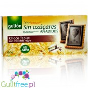 Gullón DietNature Choco Tablet petit buerre cookies with sugar free dark chocolate, box 150g