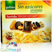 Gullón DietNature Surtido Mix - gift box, sugar free cookies